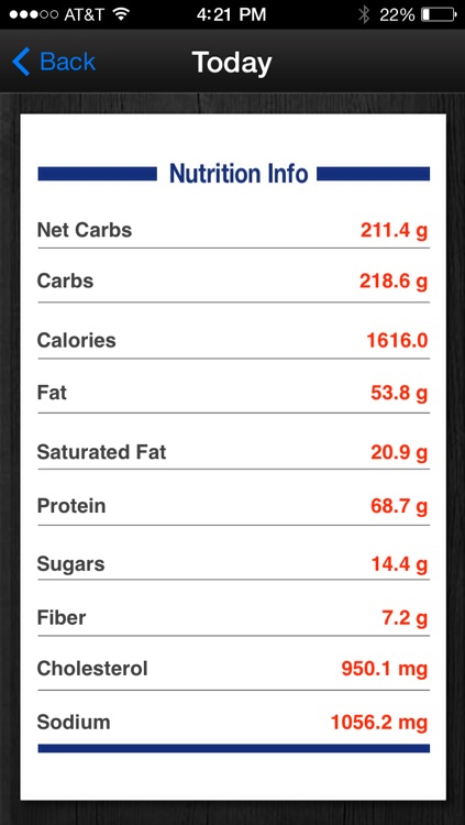Diabetes App - blood sugar control, glucose tracker and carb counter screenshot-3