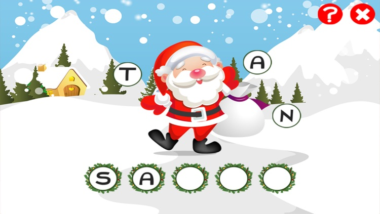 abc christmas games for children train your english spell ing skills with santa and
