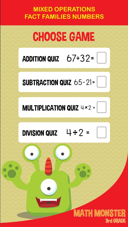 3rd Grade Math Games - multiplication and division screenshot-3