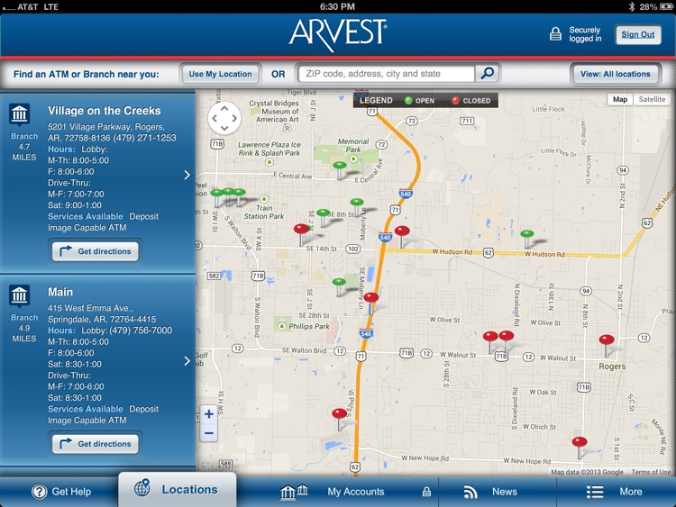 Arvest for iPad screenshot-4