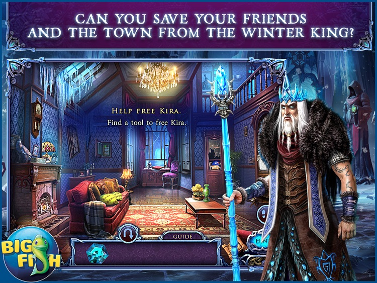 Mystery of the Ancients: Deadly Cold HD - A Hidden Object Adventure (Full) screenshot-0