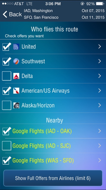 Washington Dulles Airport (IAD/BWI/DCA ) Flight Tracker radar screenshot-3