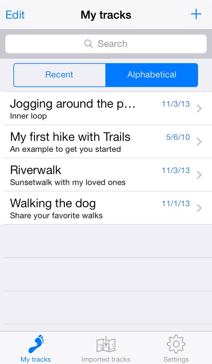 Trails - GPS tracker screenshot-3