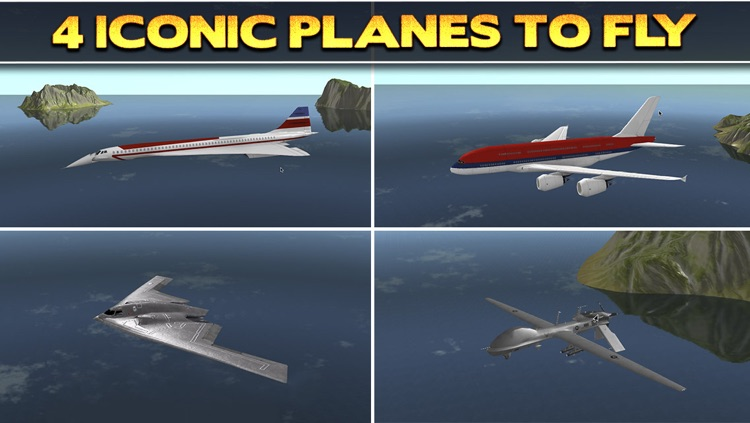 3D Plane Flying Parking Simulator Game - Real Airplane Driving Test Run Sim Racing Games PRO