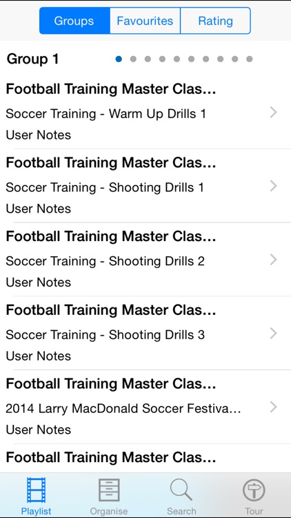 Football Training Master Class