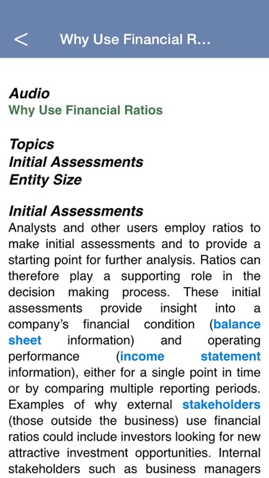 financial ratio flashcards analysis and accounting