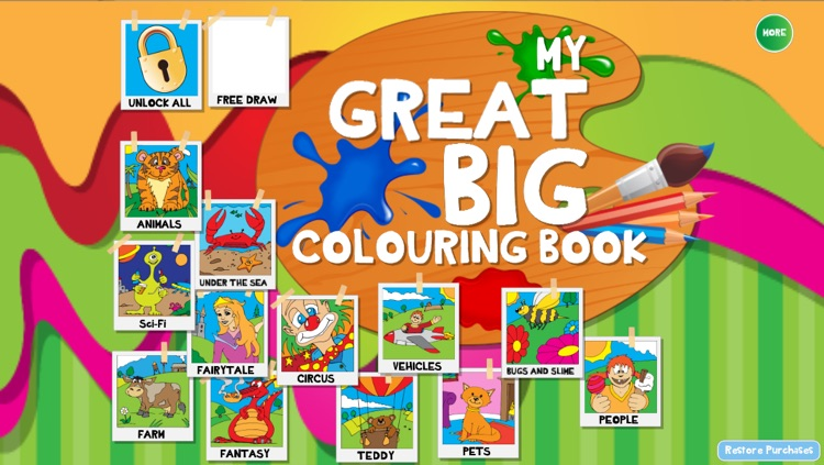 My Great Big Coloring Book