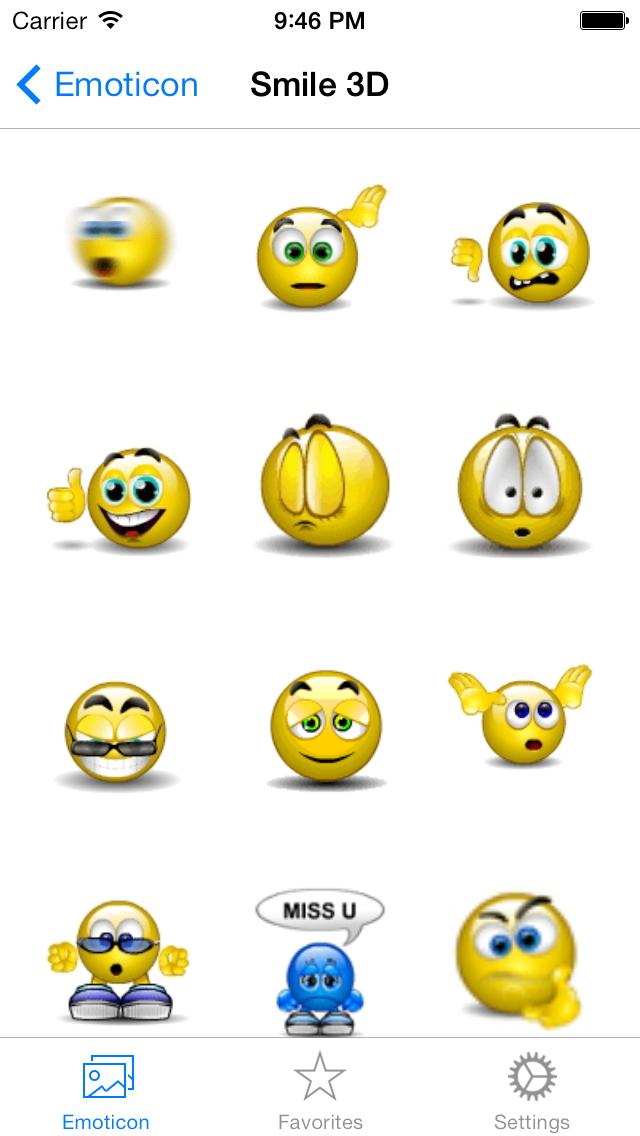 Animated 3D Emoji Emoticons Free - SMS,MMS,WhatsApp Smileys Animoticons Stickersのおすすめ画像2