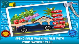 Little Car Wash –washing up free kids Games-0