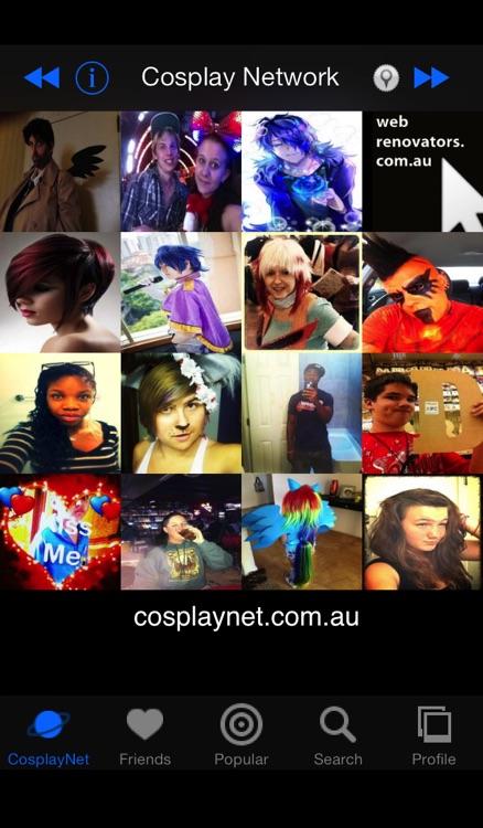CosplayNet - The Cosplay Network