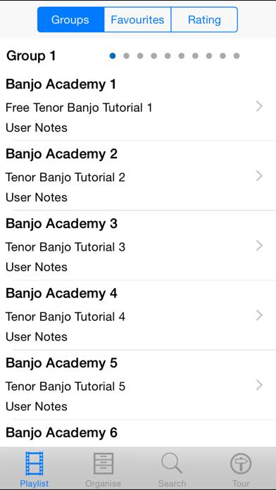 Banjo Academy screenshot two