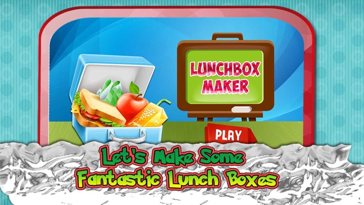 Lunch box Maker - Add your favourite food i e Candies, Sandwich