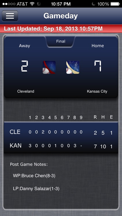 Cleveland Baseball Live screenshot-4
