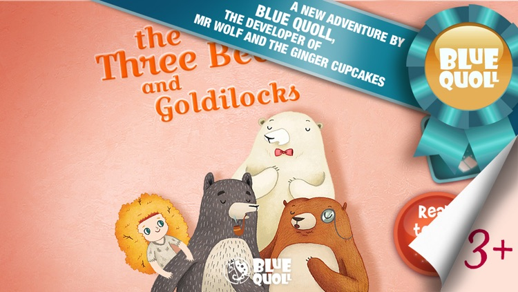 Goldilocks and the Three Bears by Blue Quoll - The traditional fairy tale re-invented as an interactive kids storybook screenshot-0