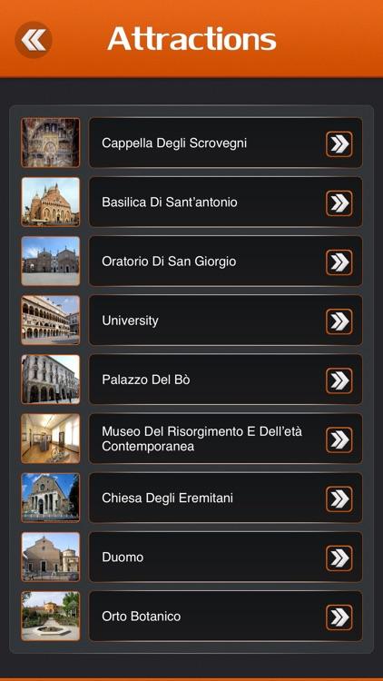 Padua City Offline Travel Guide