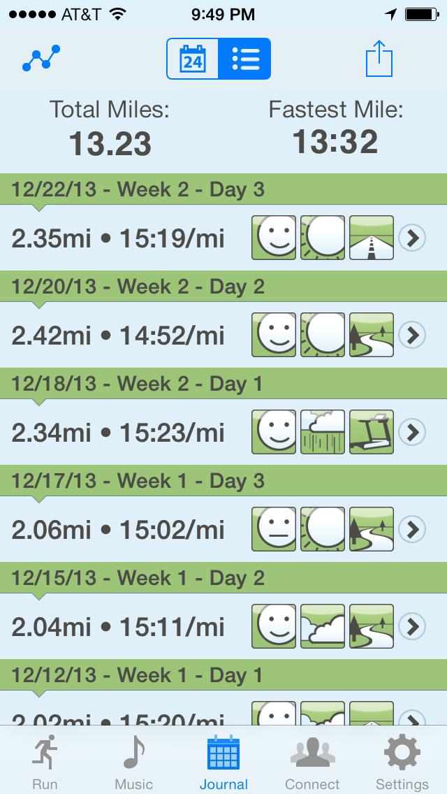 Ease into 5K: run walk interval training programのおすすめ画像4