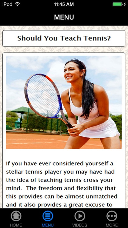 Learn Best Tennis Basic Made Easy Guide & Tips for Beginners screenshot-3