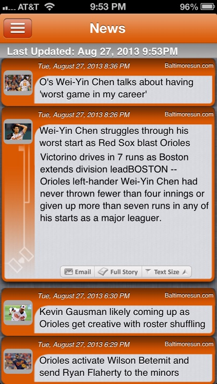 Baltimore Baseball Live screenshot-3