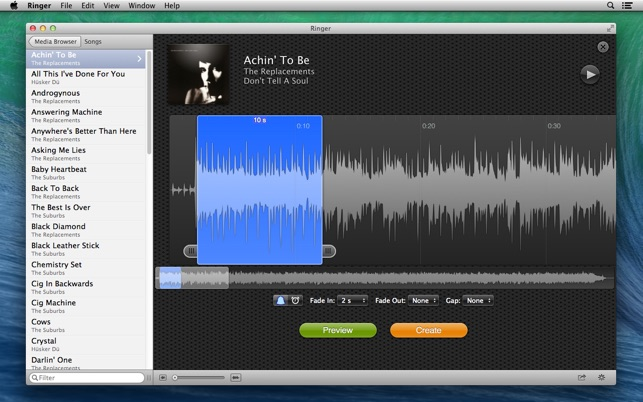 Ringer - Ringtone Maker Screenshot
