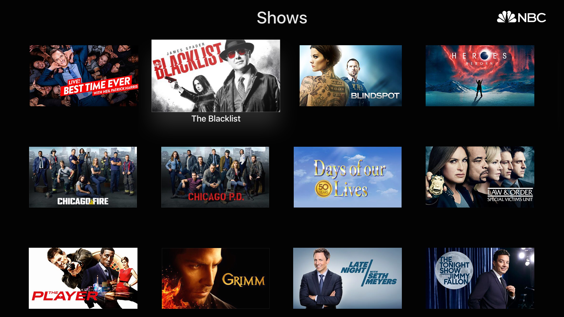 The NBC App – Stream TV Shows screenshot 12