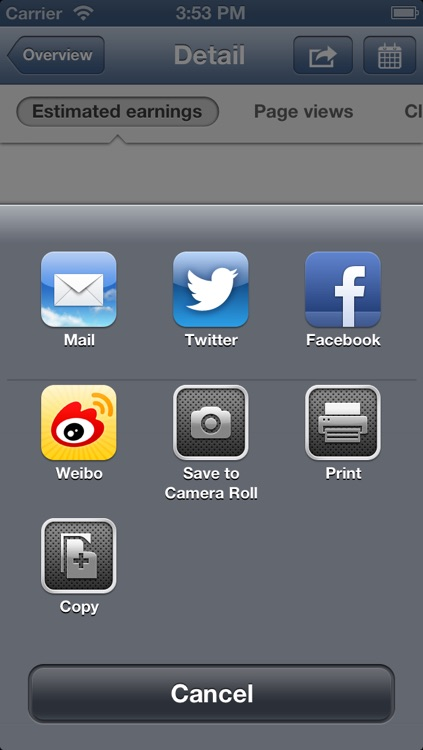 Fishead AdSense - Free app for Google AdSense Reporting screenshot-4