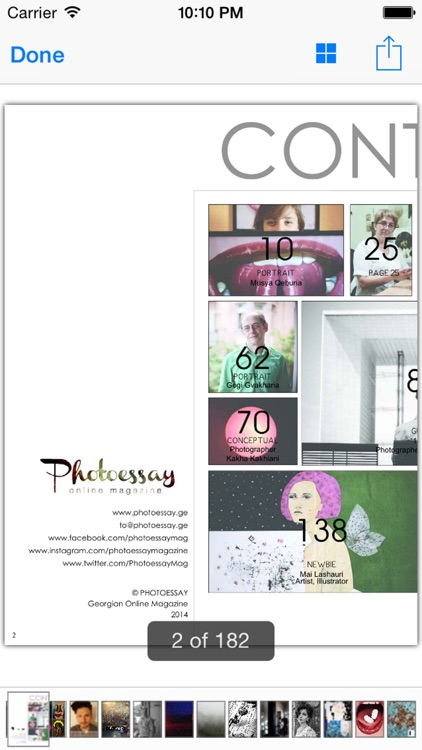 PHOTOESSAY Online Art Magazine