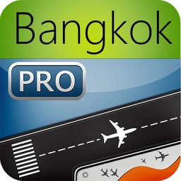 Bangkok Airport Pro (BKK) Flight Tracker air radar Thai Bangkok Asia