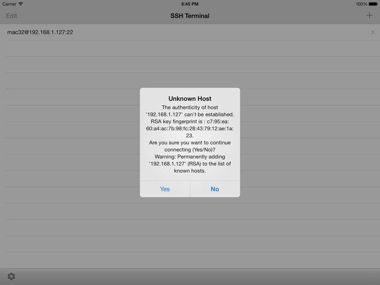SSH Terminal screenshot-4