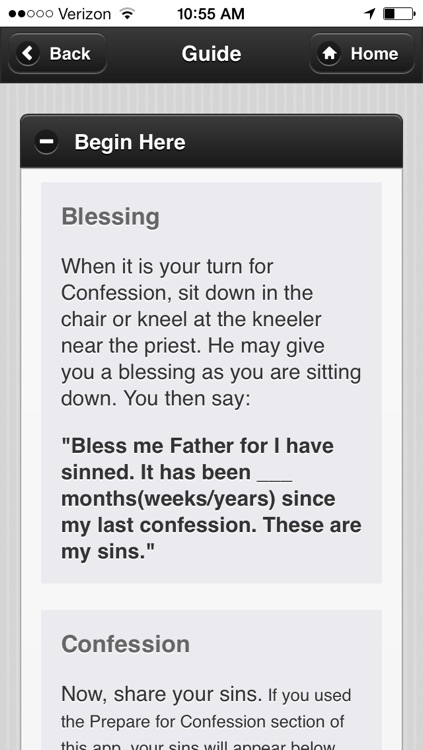 Confession App: Catholic Sacrament screenshot-3