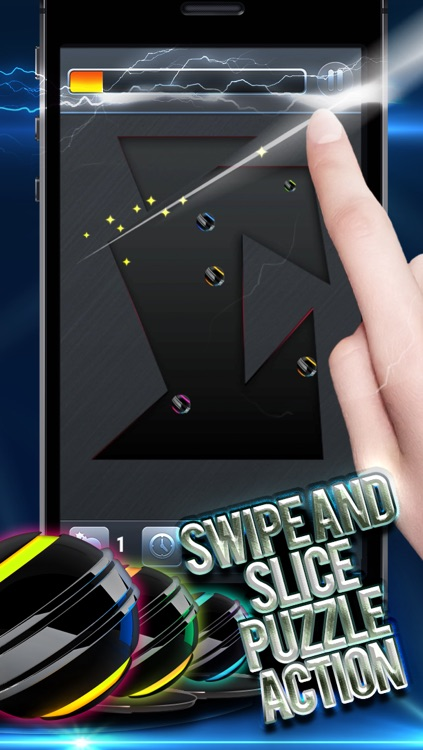 Addiction Slice - The Super Addictive Slash, Cut and Swipe Free Puzzle Game screenshot-1