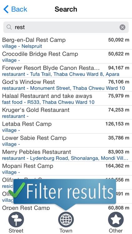 Kruger Travelmapp screenshot-3