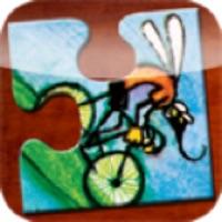 Codes for Cykelmyggen Egon Puslespil og bog Hack