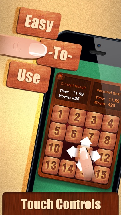 15 Puzzle Challenge. Free classic sliding tiles game! screenshot-4