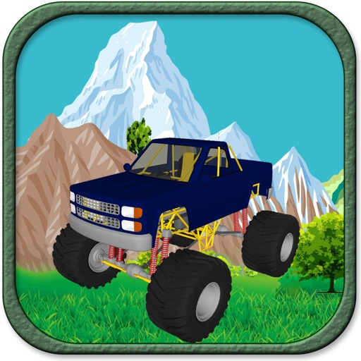 A Uphill Battle Pro Monster Truck Game icon