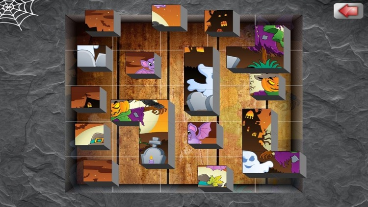 Creepy Halloween Puzzle For Kids And Toddlers