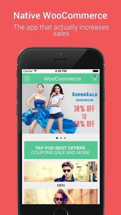 Wooapp - Native WooCommerce app - App - iOS me