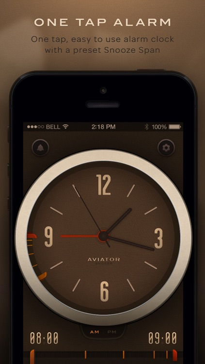 Snoozr Aviator - Smart Vintage Alarm Clock