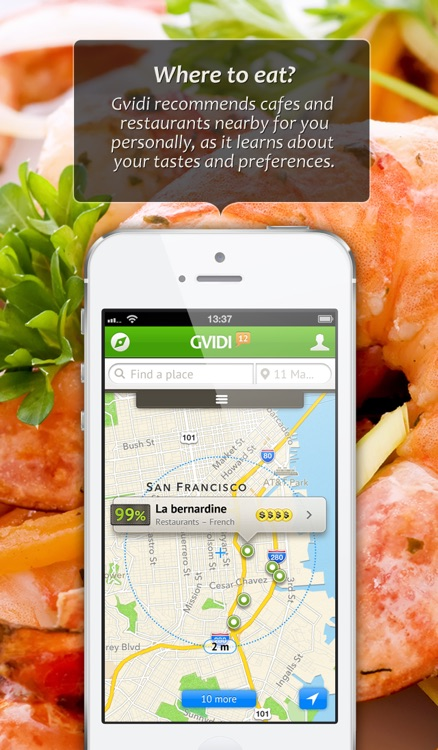 Gvidi, your personal guide to the best restaurants, cafes and bars in the city