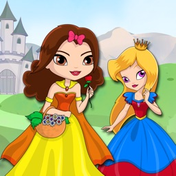 Princess puzzles for girls - Magical dress up puzzle games