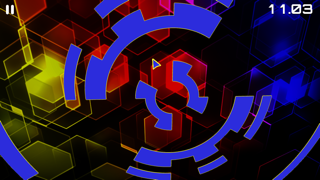 Screenshot from Groove Vortex
