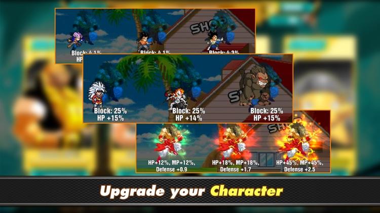 Dragon X Fighter : Saiyan Warrior screenshot-4