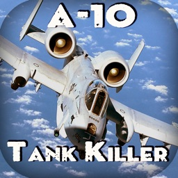A-10 Thunderbolt - Tank Killer. Combat Gunship Flight Simulator