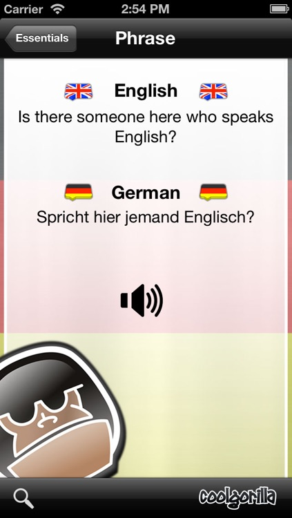 German Talking Phrasebook
