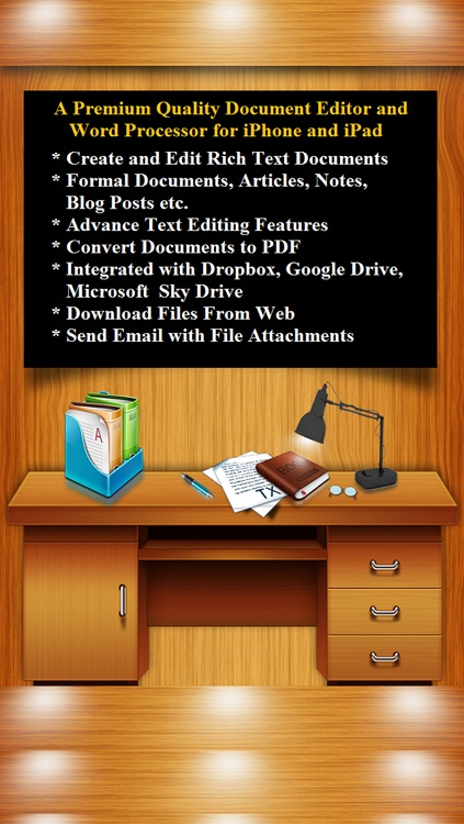 Document Editor - Word Processor and Reader for Microsoft Office screenshot-0