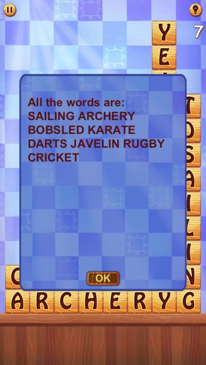 Word Sliding