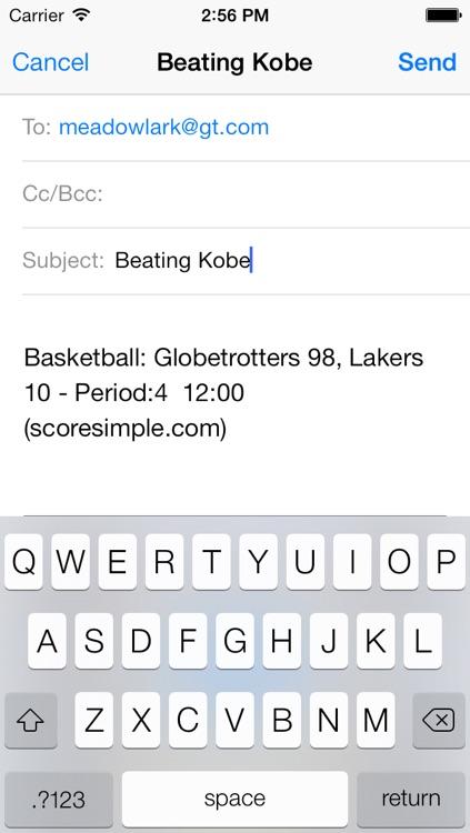 Score Simple screenshot-3