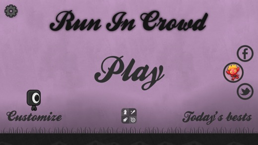 Run In Crowd Screenshot