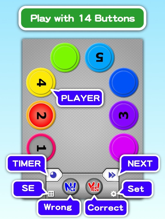QuizButton HD screenshot-1