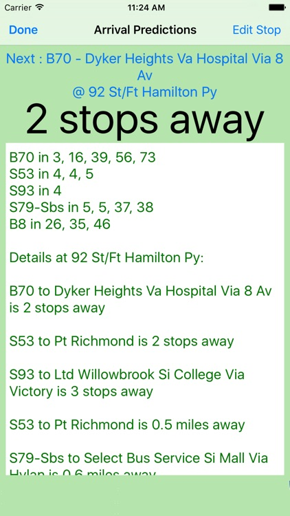 My Bus Times screenshot-1