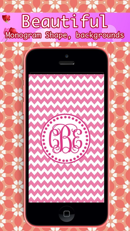 Monogram - Lock Screen & Home Screen Background Wallpaper screenshot-1